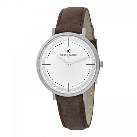 ساعت مچی عقربه ای مردانه کلاسیک برند پیرکاردین مدل CBV.1026
