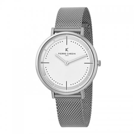 ساعت مچی عقربه ای مردانه کلاسیک برند پیرکاردین مدل CBV.1027
