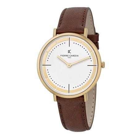 ساعت مچی عقربه ای مردانه کلاسیک برند پیرکاردین مدل CBV.1031