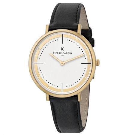 ساعت مچی عقربه ای مردانه کلاسیک برند پیرکاردین مدل CBV.1032