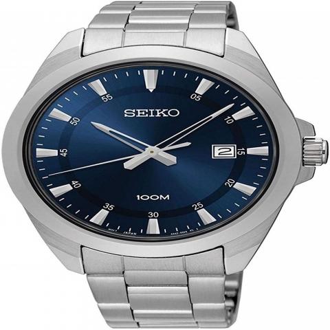 ساعت مچی عقربه ای مردانه کلاسیک برند سیکو مدل SUR207P1