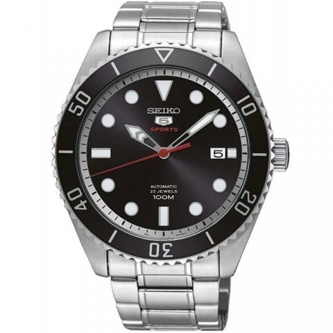 ساعت مچی عقربه ای مردانه اسپرت برند سیکو مدل SRPB91K1