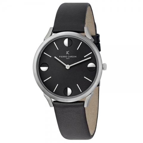 ساعت مچی عقربه ای مردانه کلاسیک برند پیرکاردین مدل CPI.2010