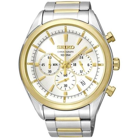 ساعت مچی عقربه ای مردانه کلاسیک برند سیکو مدل SSB090P1