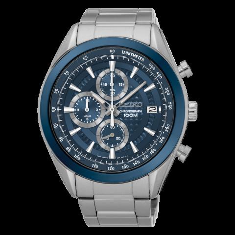 ساعت مچی عقربه ای مردانه کلاسیک برند سیکو مدل SSB177P1