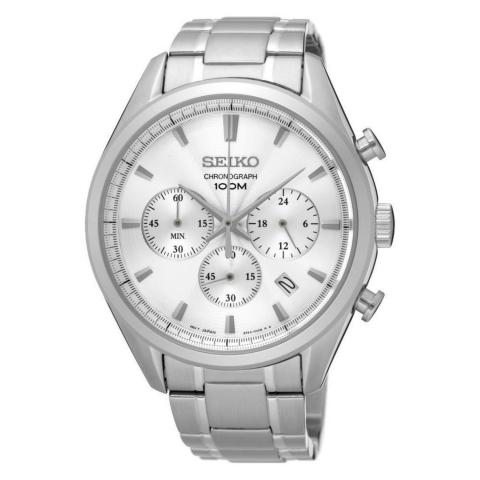 ساعت مچی عقربه ای مردانه کلاسیک برند سیکو مدل SSB221P1
