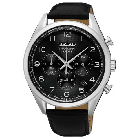 ساعت مچی عقربه ای مردانه کلاسیک برند سیکو مدل SSB231P1