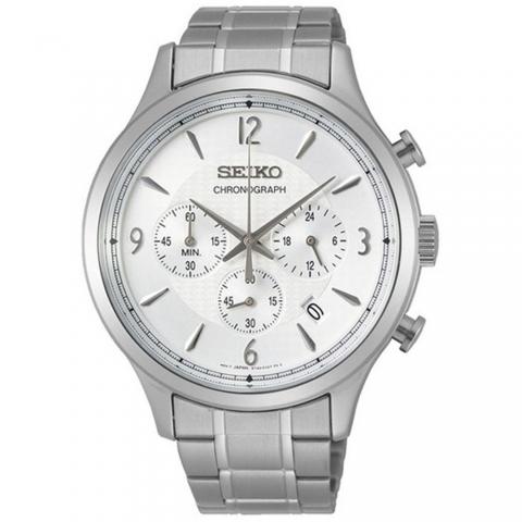 ساعت مچی عقربه ای مردانه کلاسیک برند سیکو مدل SSB337P1