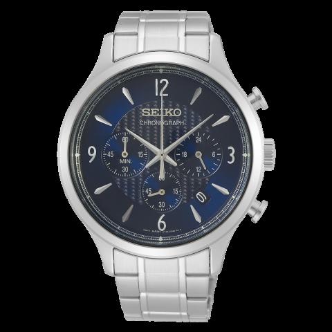 ساعت مچی عقربه ای مردانه کلاسیک برند سیکو مدل SSB339P1