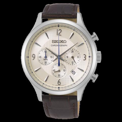 ساعت مچی عقربه ای مردانه کلاسیک برند سیکو مدل SSB341P1