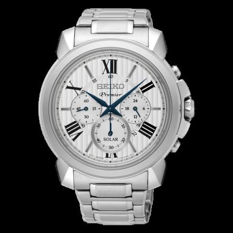 ساعت مچی عقربه ای مردانه کلاسیک برند سیکو مدل SSC595P1
