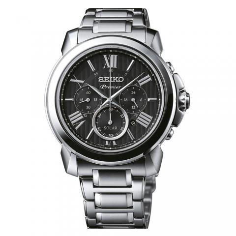 ساعت مچی عقربه ای مردانه کلاسیک برند سیکو مدل SSC597P1