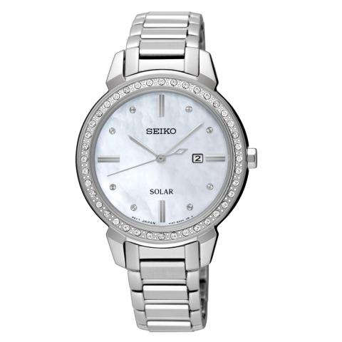 ساعت مچی عقربه ای زنانه کلاسیک برند سیکو مدل SUT327P1