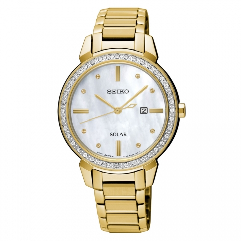 ساعت مچی عقربه ای زنانه کلاسیک برند سیکو مدل SUT330P1