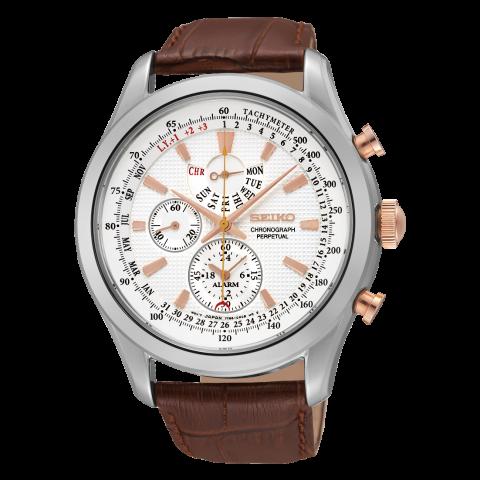 ساعت مچی عقربه ای مردانه کلاسیک برند سیکو مدل SPC129P1