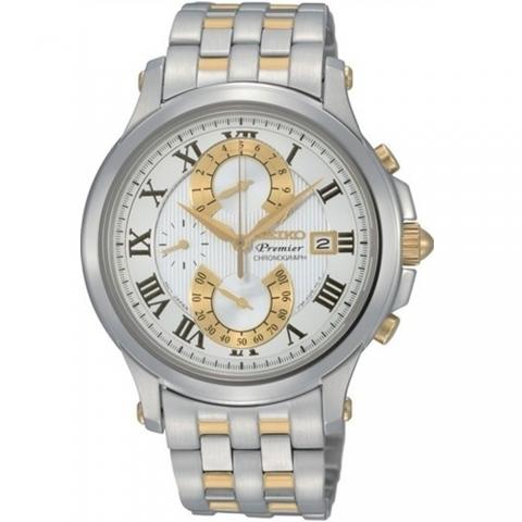 ساعت مچی عقربه ای مردانه کلاسیک برند سیکو مدل SPC068P1