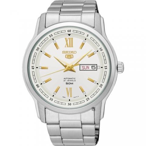ساعت مچی عقربه ای مردانه کلاسیک برند سیکو مدل SNKP15J1