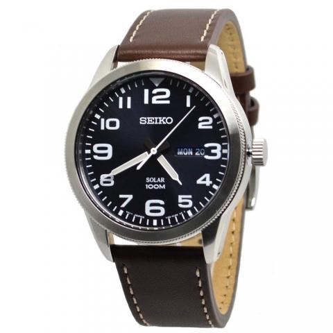 ساعت مچی عقربه ای مردانه کلاسیک برند سیکو مدل SNE475P1
