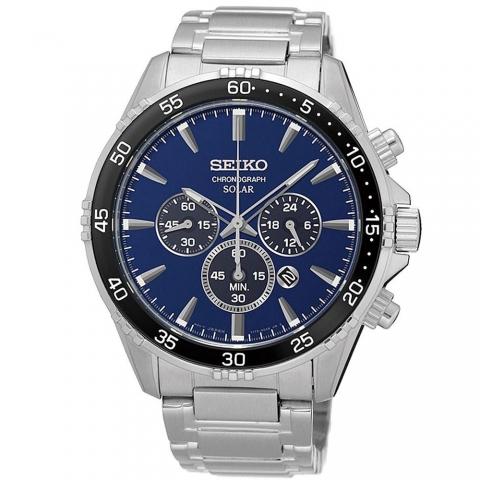 ساعت مچی عقربه ای مردانه کلاسیک برند سیکو مدل SSC445P1