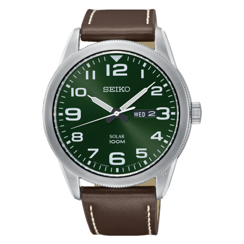 ساعت مچی عقربه ای مردانه کلاسیک برند سیکو مدل SNE473P1