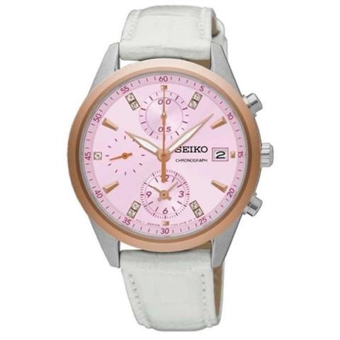 ساعت مچی عقربه ای زنانه کلاسیک برند سیکو مدل SNDV50P1