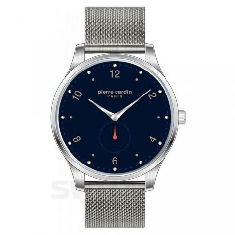 ساعت مچی عقربه ای مردانه کلاسیک برند پیرکاردین مدل PC902671F201