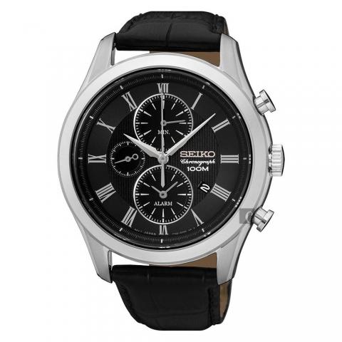 ساعت مچی عقربه ای مردانه کلاسیک برند سیکو مدل SNAF71P1