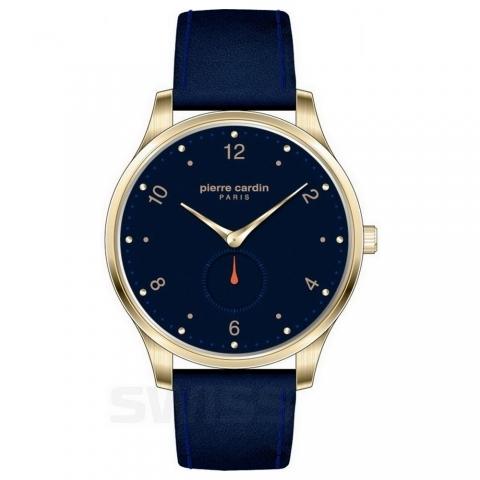 ساعت مچی عقربه ای مردانه کلاسیک برند پیرکاردین مدل PC902671F205