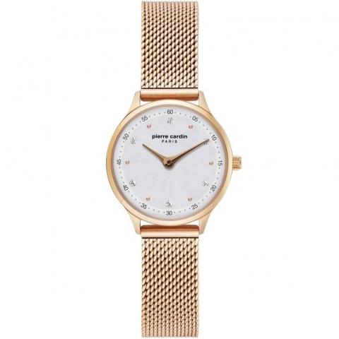 ساعت مچی عقربه ای زنانه کلاسیک برند پیرکاردین مدل PC902682F303