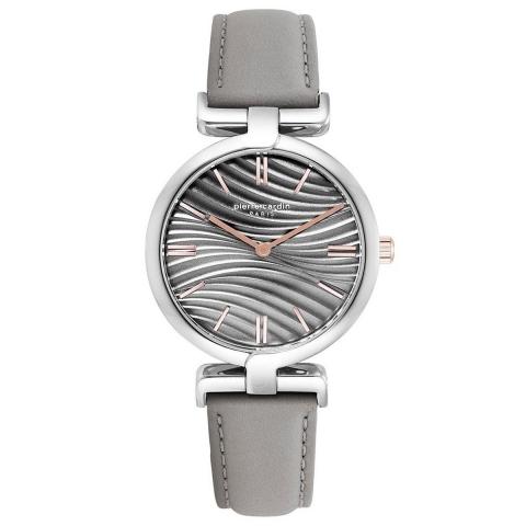 ساعت مچی عقربه ای زنانه کلاسیک برند پیرکاردین مدل PC902702F03