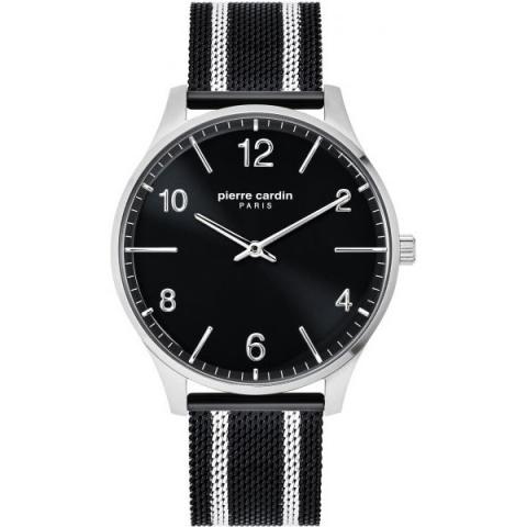 ساعت مچی عقربه ای مردانه کلاسیک برند پیرکاردین مدل PC902711F103