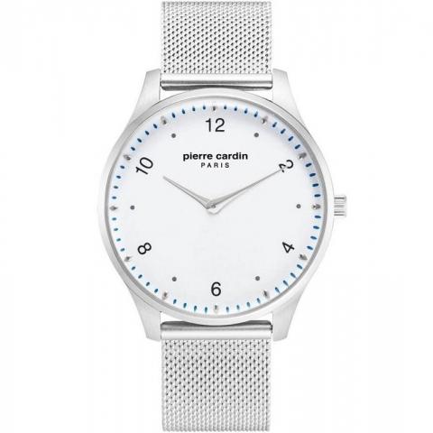 ساعت مچی عقربه ای مردانه کلاسیک برند پیرکاردین مدل PC902711F201