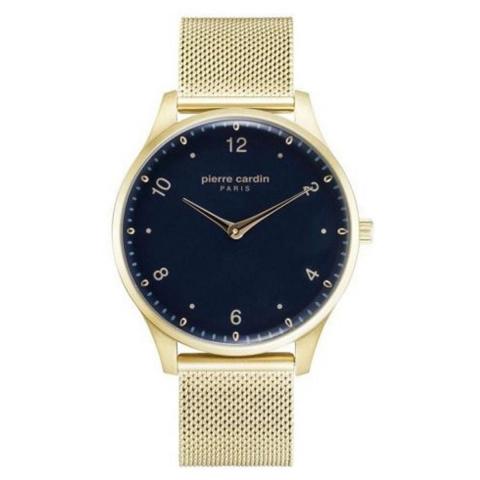 ساعت مچی عقربه ای مردانه کلاسیک برند پیرکاردین مدل PC902711F202