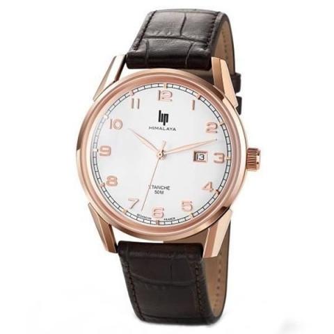 ساعت مچی عقربه ای مردانه کلاسیک برند لیپ مدل 671232