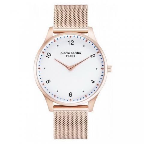 ساعت مچی عقربه ای مردانه کلاسیک برند پیرکاردین مدل PC902711F203