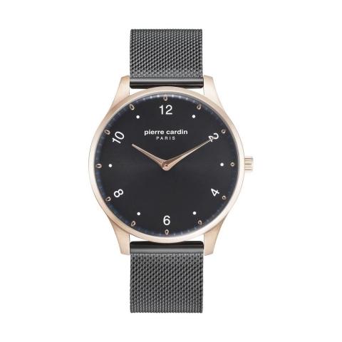 ساعت مچی عقربه ای مردانه کلاسیک برند پیرکاردین مدل PC902711F204