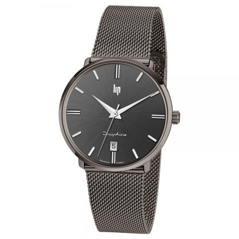 ساعت مچی عقربه ای مردانه کلاسیک برند لیپ مدل 671423