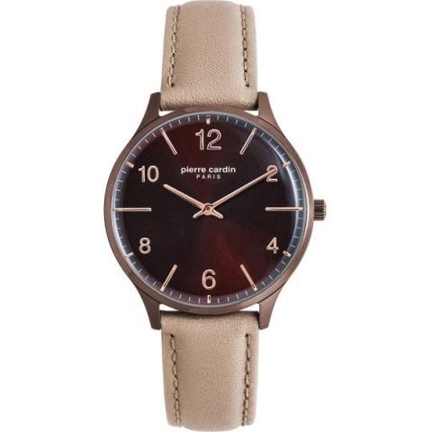 ساعت مچی عقربه ای زنانه کلاسیک برند پیرکاردین مدل PC902722F113
