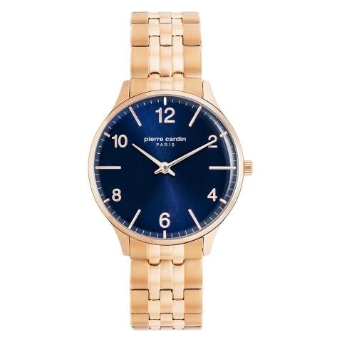 ساعت مچی عقربه ای زنانه کلاسیک برند پیرکاردین مدل PC902722F117