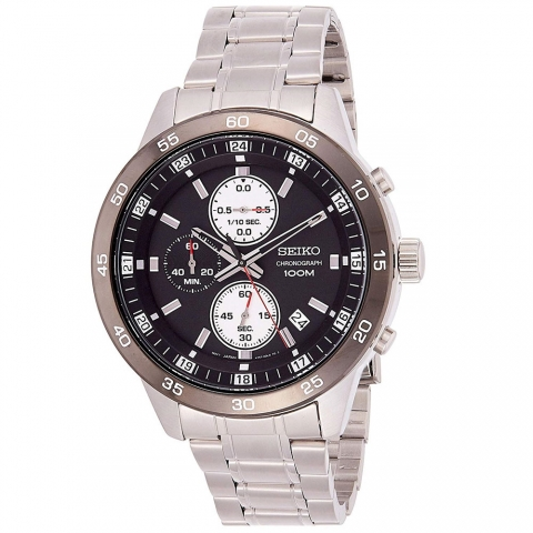 ساعت مچی عقربه ای مردانه کلاسیک برند سیکو مدل SKS647P1