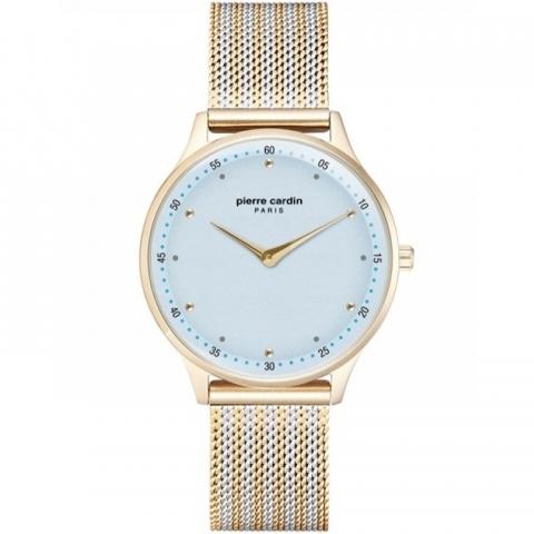 ساعت مچی عقربه ای زنانه کلاسیک برند پیرکاردین مدل PC902722F202