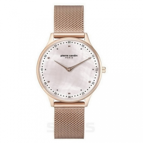 ساعت مچی عقربه ای زنانه کلاسیک برند پیرکاردین مدل PC902722F203