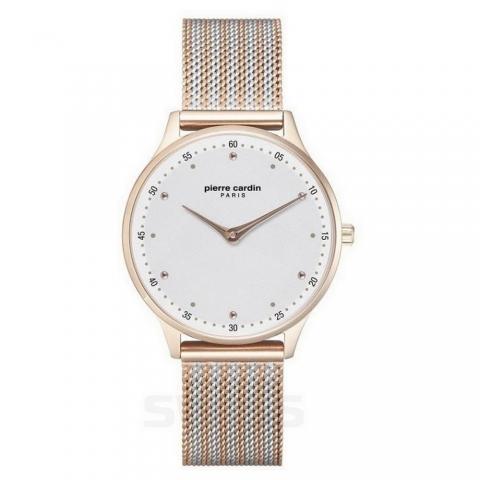 ساعت مچی عقربه ای زنانه کلاسیک برند پیرکاردین مدل PC902722F204