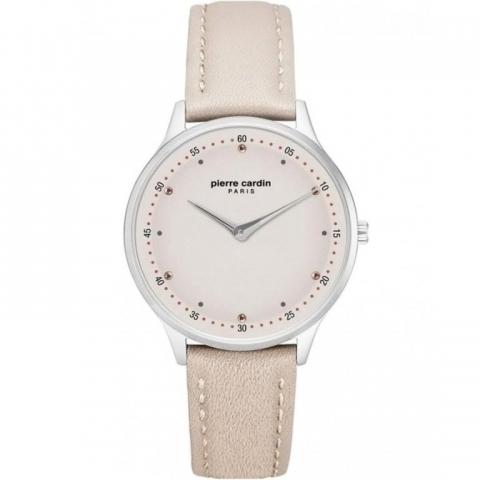 ساعت مچی عقربه ای زنانه کلاسیک برند پیرکاردین مدل PC902722F206