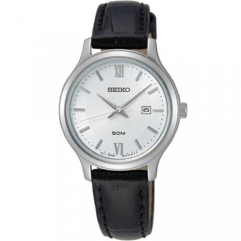 ساعت مچی عقربه ای زنانه کلاسیک برند سیکو مدل SUR645P1