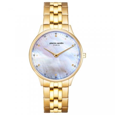 ساعت مچی عقربه ای زنانه کلاسیک برند پیرکاردین مدل PC902722F208