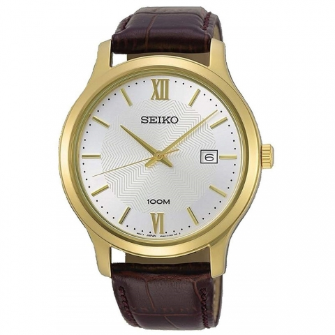 ساعت مچی عقربه ای مردانه کلاسیک برند سیکو مدل SUR298P1