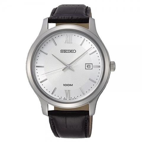 ساعت مچی عقربه ای مردانه کلاسیک برند سیکو مدل SUR297P1
