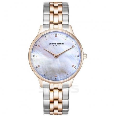 ساعت مچی عقربه ای زنانه کلاسیک برند پیرکاردین مدل PC902722F209