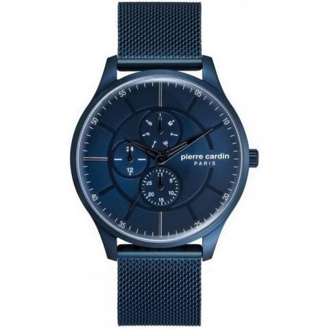 ساعت مچی عقربه ای مردانه کلاسیک برند پیرکاردین مدل PC902731F02